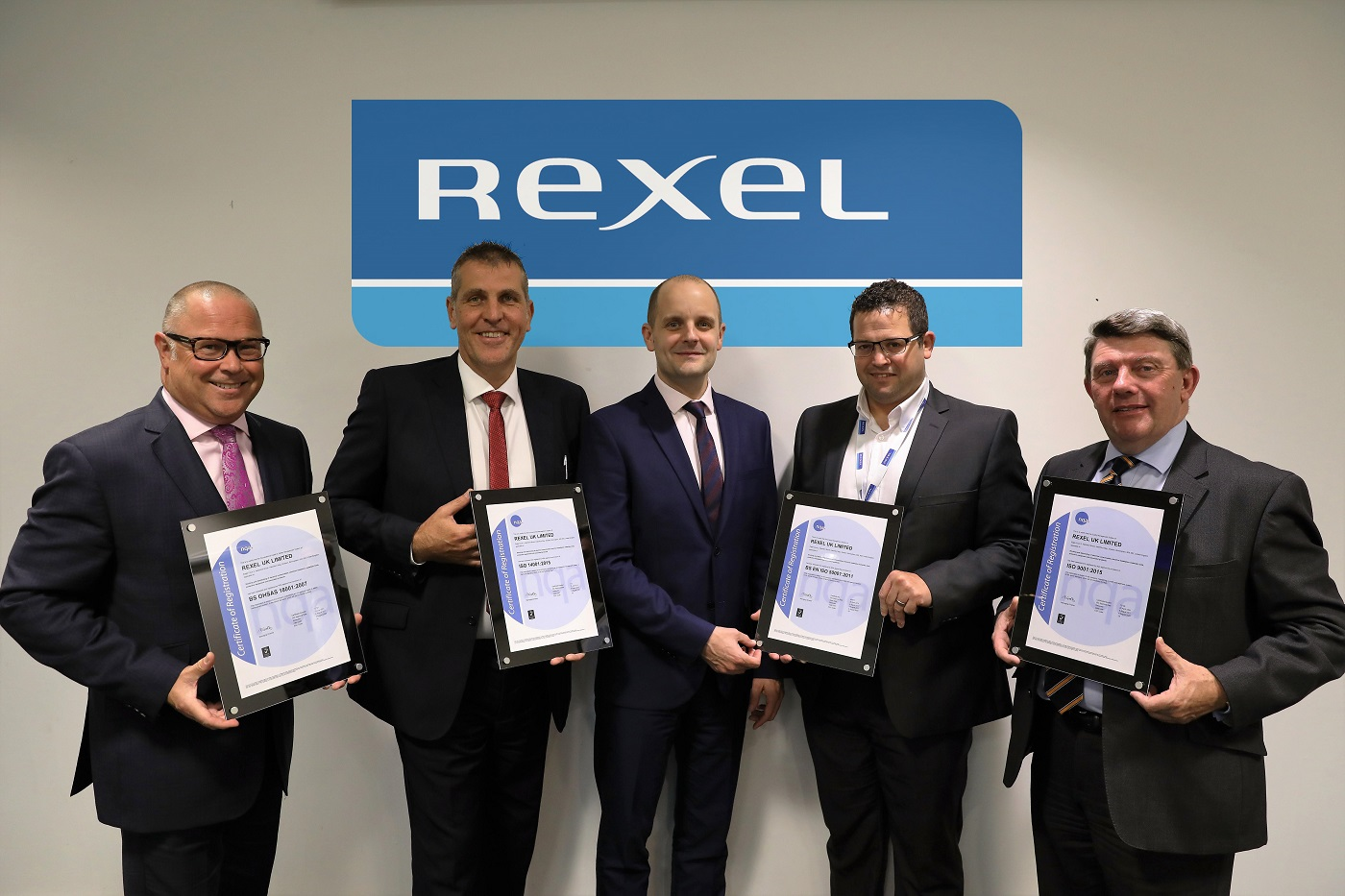 Prestigious ISO certification awarded