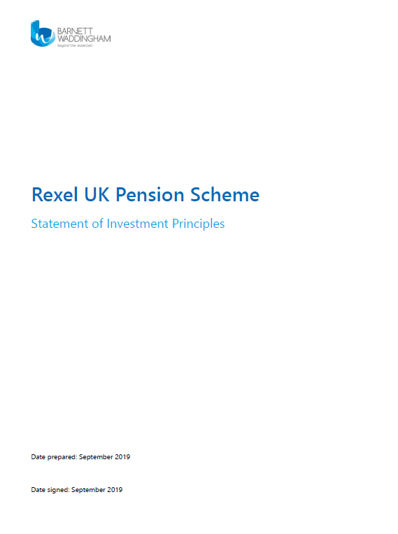 Rexel UK Pensions Scheme pdf