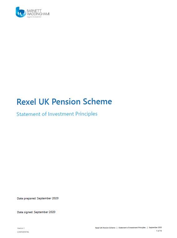 Rexel UK Pensions Scheme pdf